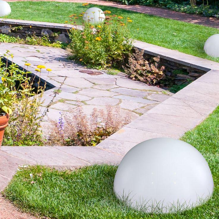 LED Solarleuchte Kugelform Außenleuchte Außenbereich Gartenleuchte Lampe Leuchte Globo 33777 – Bild 16