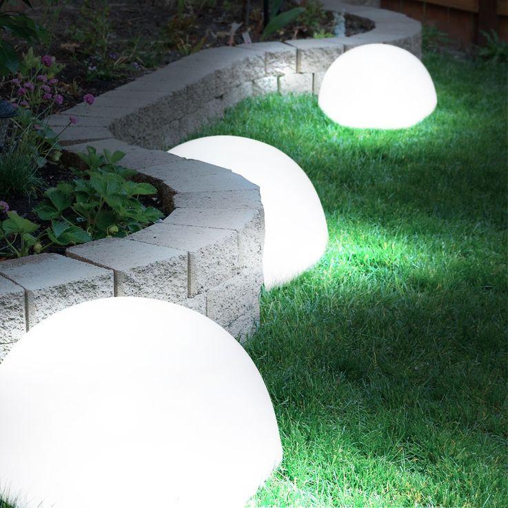 LED Solarleuchte Kugelform Außenleuchte Außenbereich Gartenleuchte Lampe Leuchte Globo 33777 – Bild 10