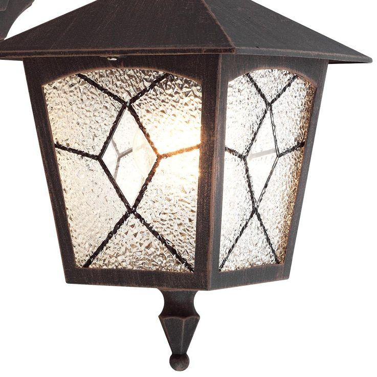 Applique classique luminaire mural lanterne aluminium rusé IP44 éclairage extérieur jardin terrasse – Bild 9