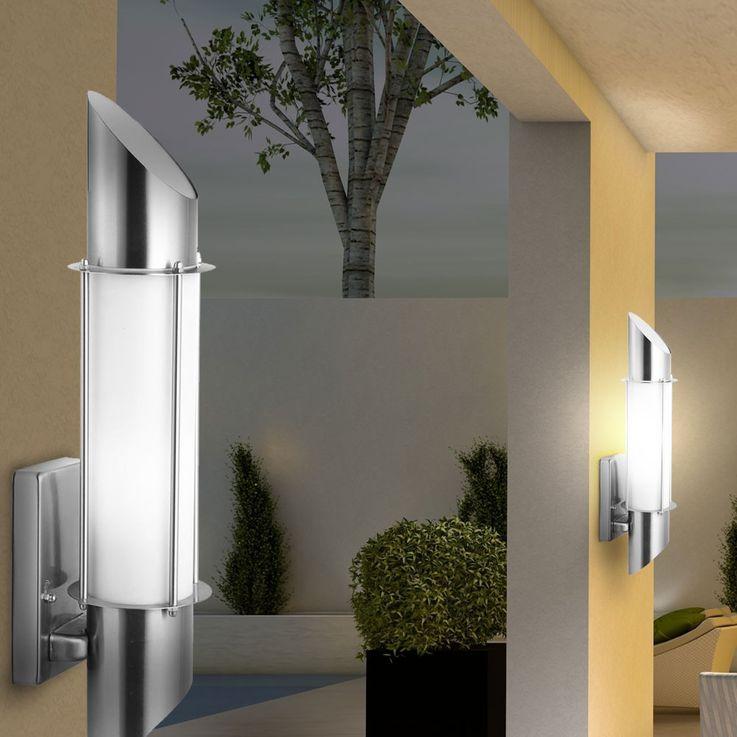 Outdoor lamp Wall lamp Wall lamp light lighting stainless steel Globo Dacia 31579 – Bild 9