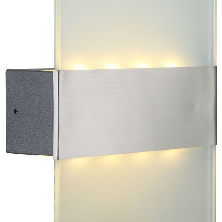 Wandleuchte LED 4 Watt Lampe Terrasse Außenbeleuchtung IP44 Aluminium Globo 34165 – Bild 7