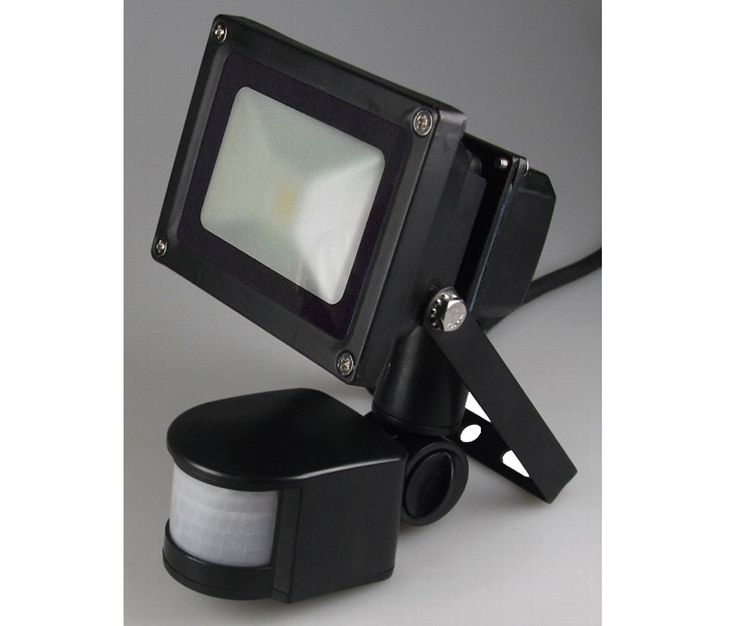 LED garden outdoor wall light lamp radiator motion detector IP44 Chilitec CTF-05W PIR – Bild 5