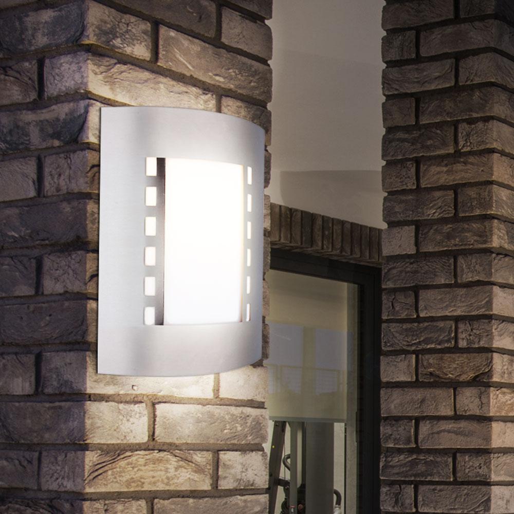 Extérieur DEL Mur lumière extérieure Extérieur Double Up and Down Jardin Mur Lampe Neuf
