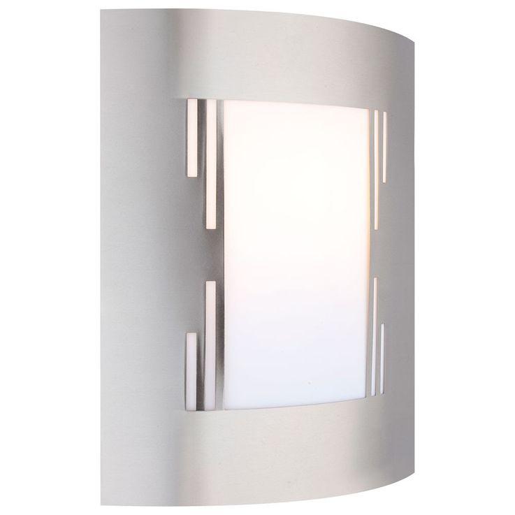 Une applique extérieur du design moderne en acier affiné avec la perforation – Bild 1