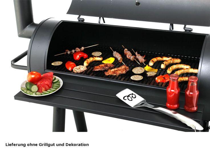 Holzkohlegrill Barbecue Grill Holzkohle Grillrost Tepro Milwaukee 1049 – Bild 7