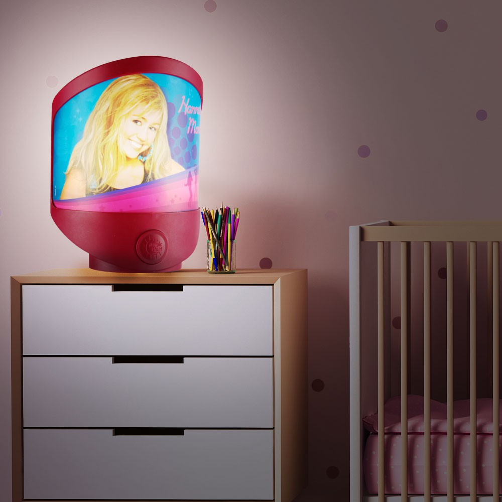 wandleuchte f r jedes kinderzimmer hannah montana lampen m bel innenleuchten kinderleuchten. Black Bedroom Furniture Sets. Home Design Ideas