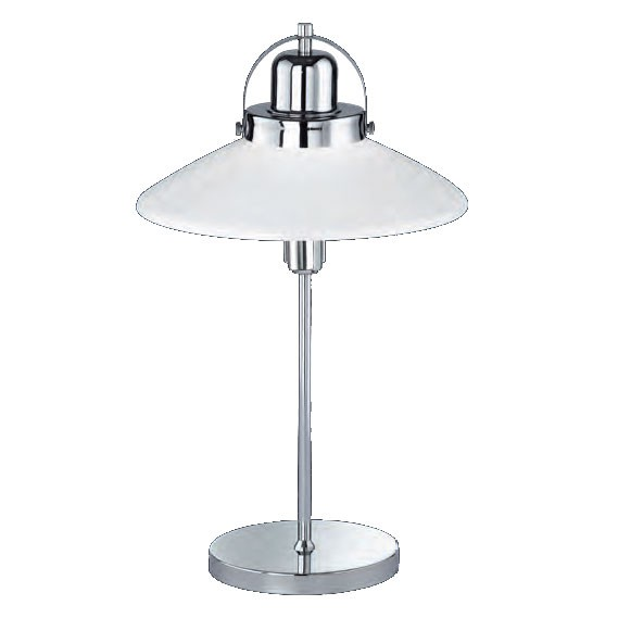 Elegant table lamp made of metal and glass – Bild 1