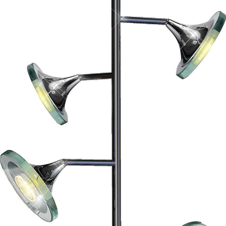 20 Watt COB Lampe de chrome d'éclairage à LED de plancher de lampadaire  Esto STARLED 780004-4 – Bild 6