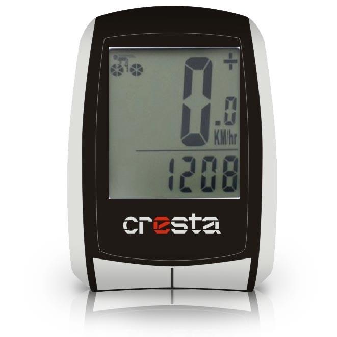 Mini-ordinateur de vélo 22 fonctions sport cycliste équipement Cresta PFC-560
