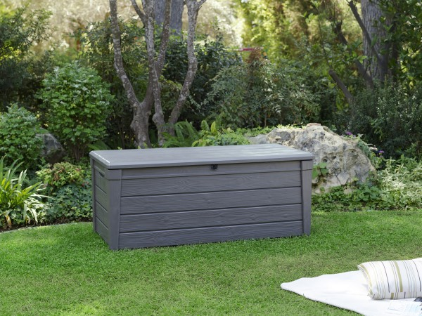 gartenbox truhe gartentruhe auflagebox box garten terrasse au enbereich kissen ebay. Black Bedroom Furniture Sets. Home Design Ideas