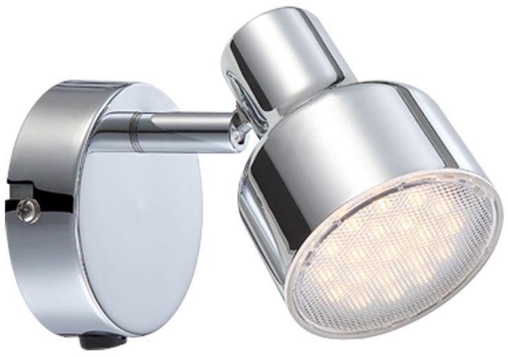 Moderne LED Wandleuchte mit beweglichem Strahler – Bild 1