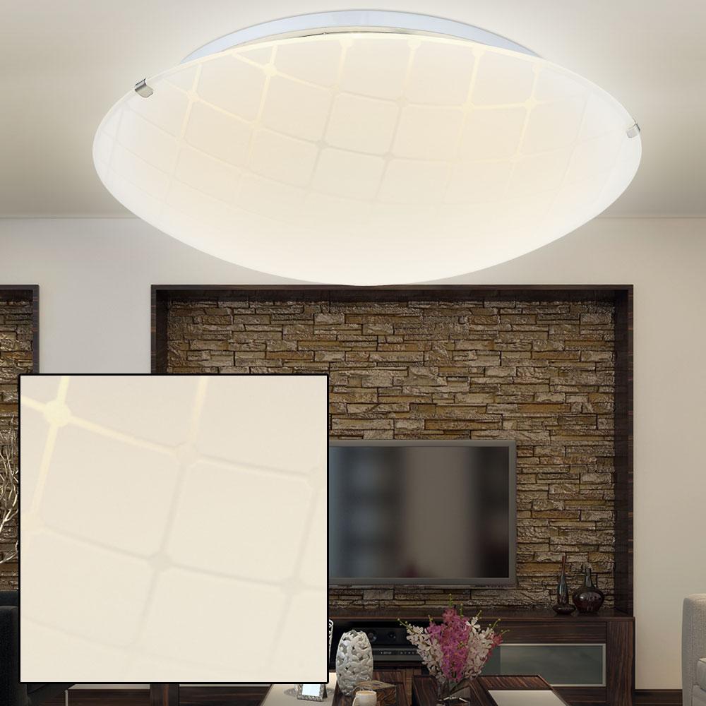 Faretti E Spot Da Soffitto dettagli su led luce da soffitto soggiorno illuminazione cromo vetro  lampada spot faretto hall- mostra il titolo originale