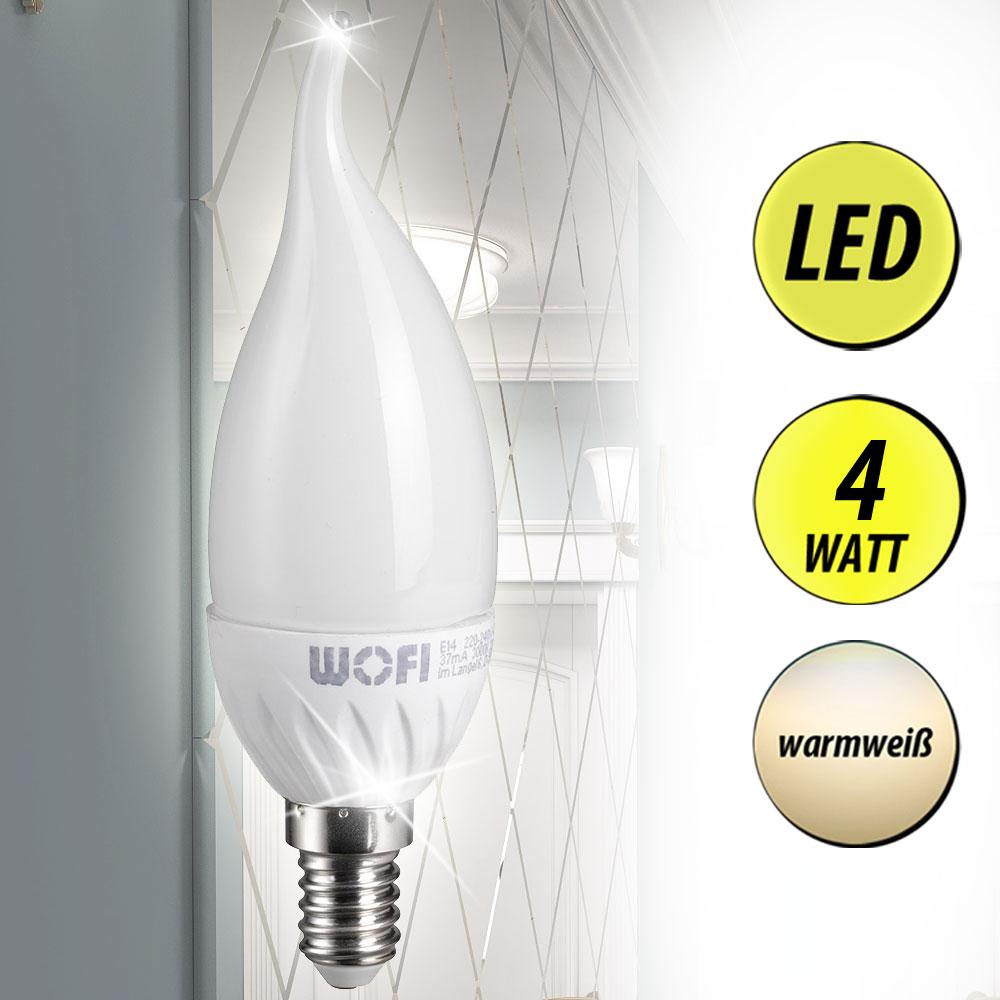 OSRAM 817777 LEDinestra LED Leuchtmittel S14s Warmweiß 6 Watt 470 Lumen
