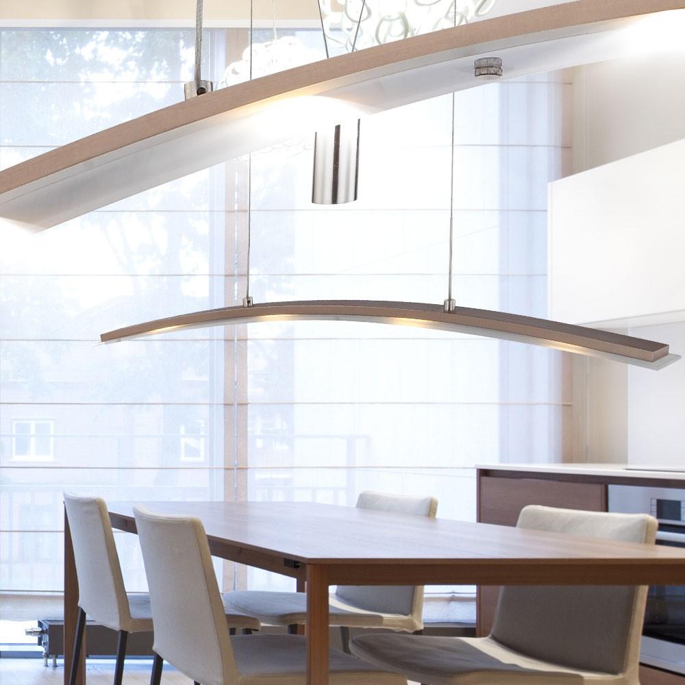 led 20 watt wohn ess zimmer tisch lampe decken leuchte k chen beleuchtung h nge ebay. Black Bedroom Furniture Sets. Home Design Ideas
