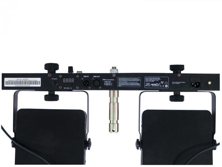 EUROLITE LED KLS-200 Kompakt-Lichtset DMX-LED-Scheinwerferset mit RGB-LEDs für mobilen Einsatz – Bild 3