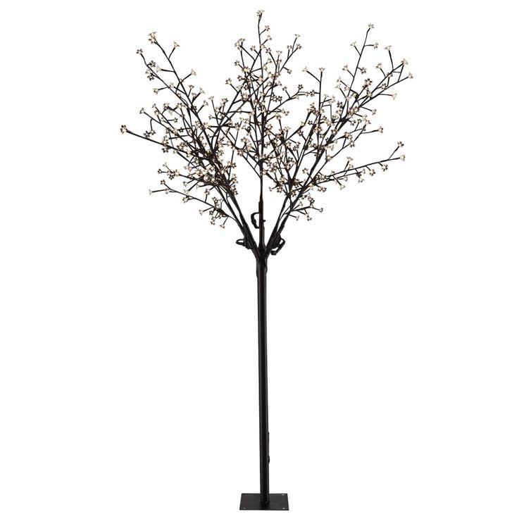 Moderner Baum aus Metall und Kunststoff mit LED Beleuchtung – Bild 1