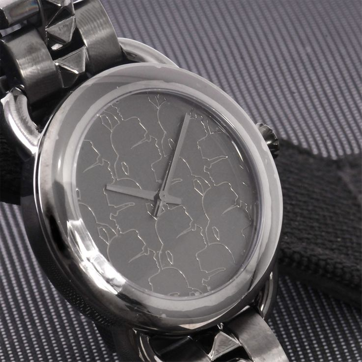 Wristwatch chronometer timekeeper chronograph clock by Karl Lagerfeld by Fossil KL 2202 – Bild 4