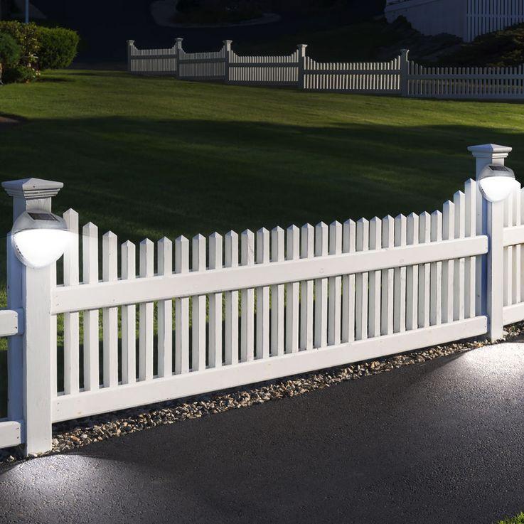 Luminaire solaire LED barrière jardin éclairage extérieur IP44 terrasse lumière – Bild 4
