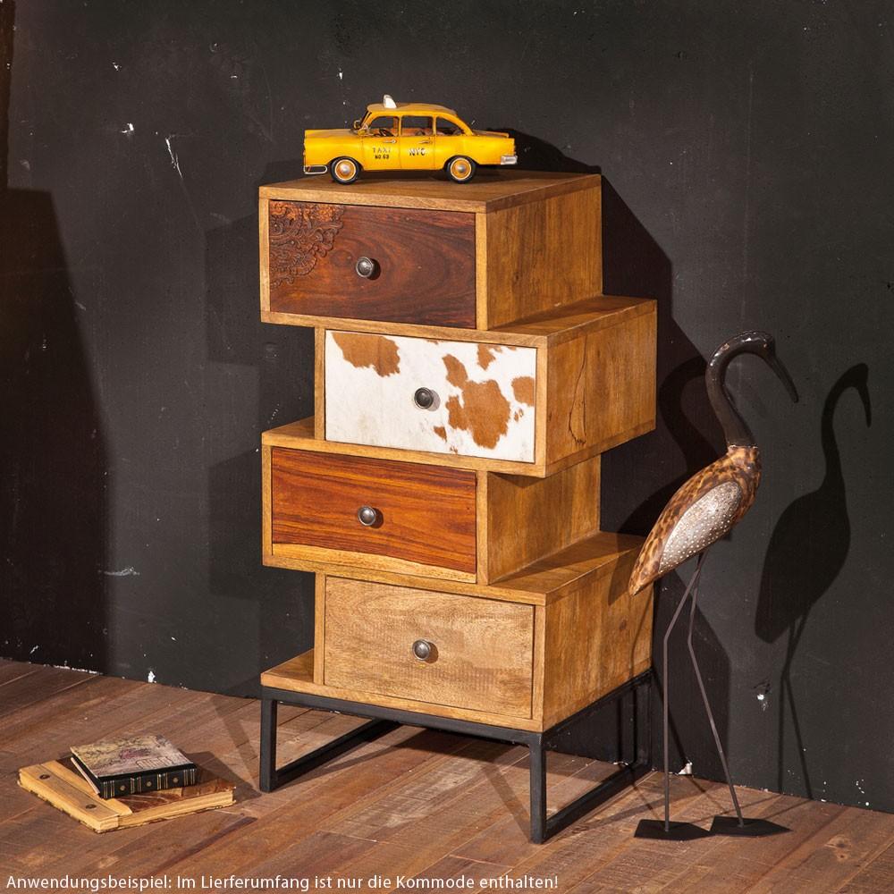 originelle kommode aus massivem mangoholz lampen m bel m bel regale. Black Bedroom Furniture Sets. Home Design Ideas