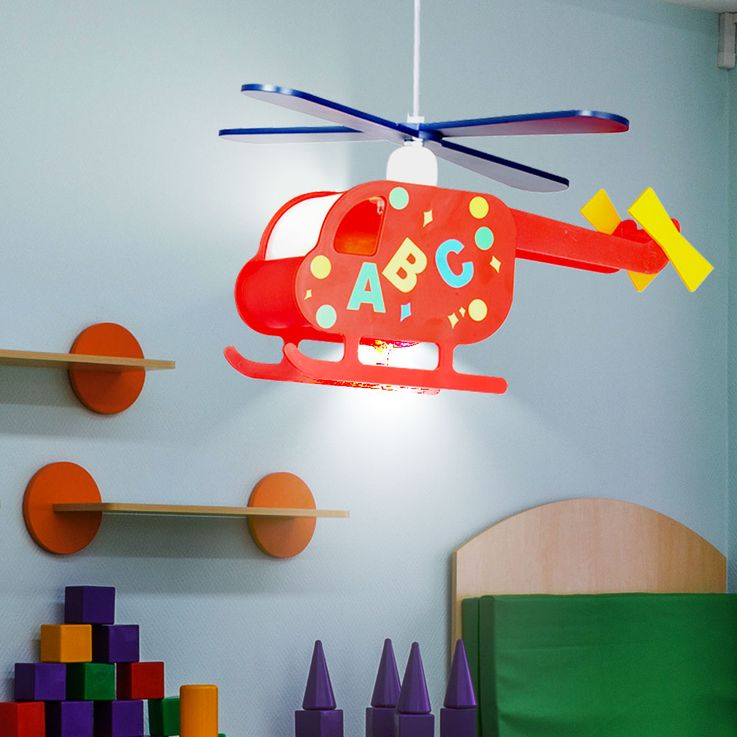 Pendant light hanging lamp children lamp nursery helicopter helicopter colorful Globo 15722 – Bild 3