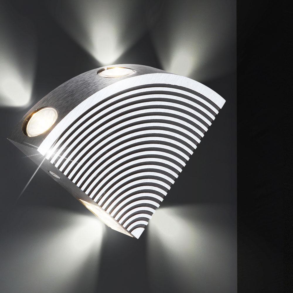 led wand lampe flur 4 watt b ro leuchte wohnzimmer. Black Bedroom Furniture Sets. Home Design Ideas