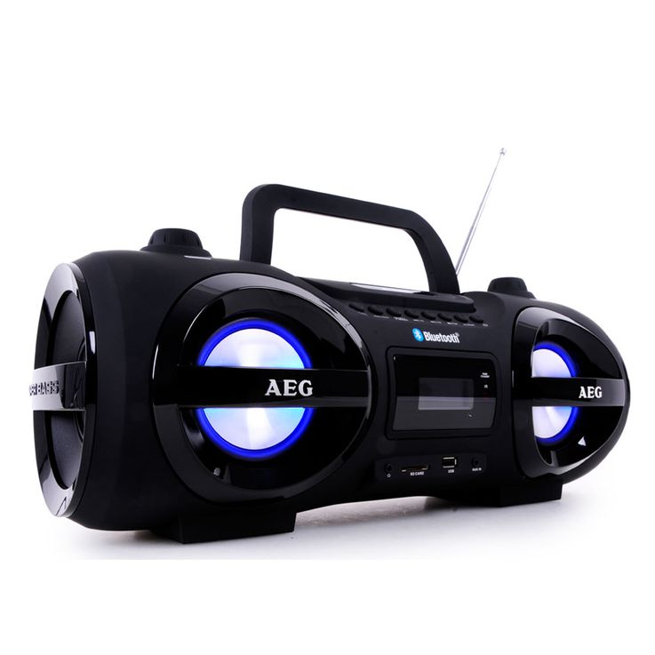 Chaîne hi-fi soundbox ghettoblaster boombox CD MP3 Bluetooth radio AEG SR 4359 BT – Bild 1