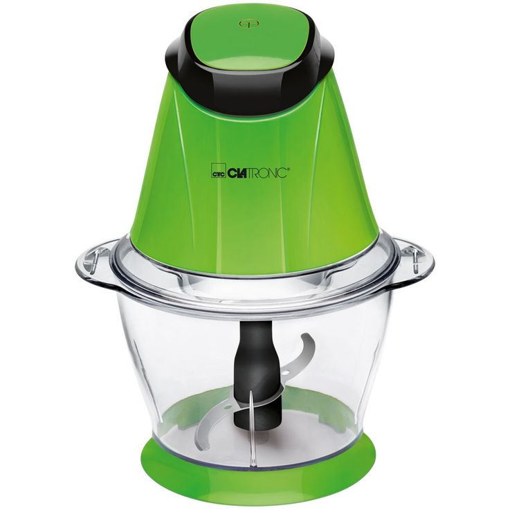 250 watt multiple chopper ICE Crusher 1 liter jug Stainless steel blades Clatronic MZ 3579 green – Bild 1