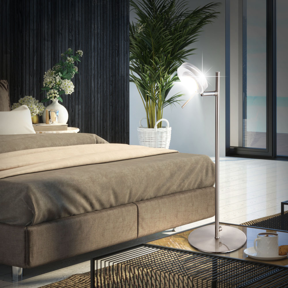 moderne tisch beleuchtung mit 5 watt led space lampen. Black Bedroom Furniture Sets. Home Design Ideas