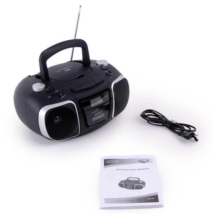 Musikanlage mit Kopfhörer und Puffy Aufkleber TCU-61 – Bild 7