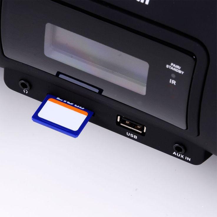 Chaîne hi-fi ghettoblaster CD MP3 lecteur laser USB bluetooth SD système musique – Bild 6