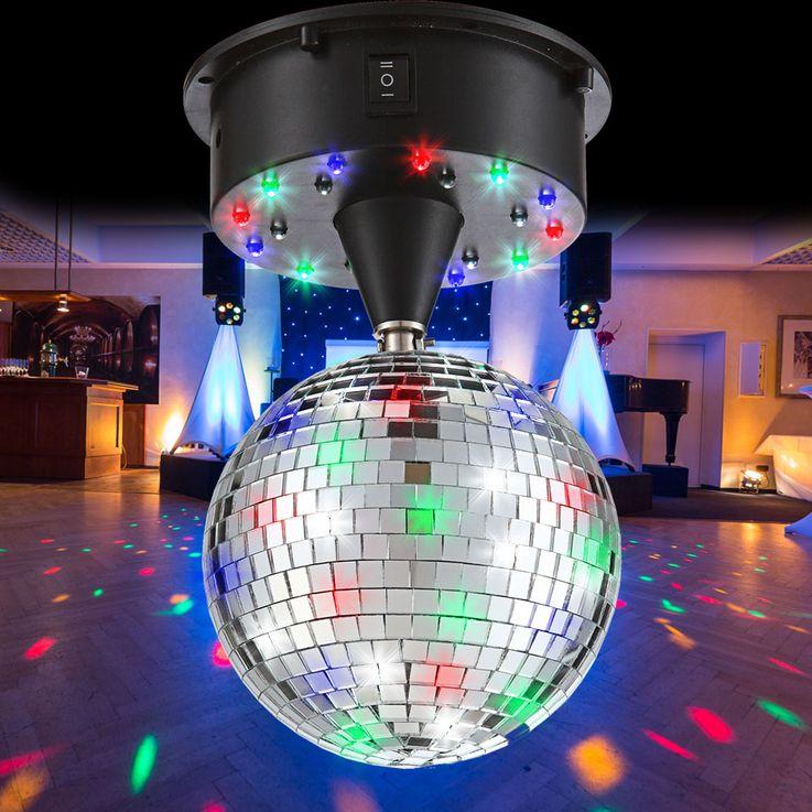 Boule Á miroir disco party fête éclairage luminaire décoration pièce Globo 28005 – Bild 2