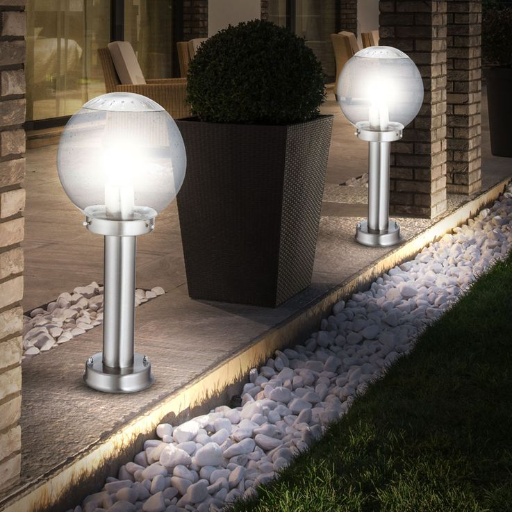 Elegant floor lamp for outdoor use – Bild 4