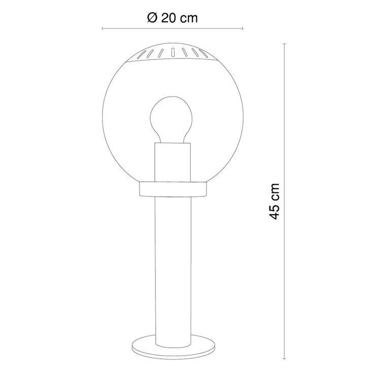 Elegant floor lamp for outdoor use – Bild 9