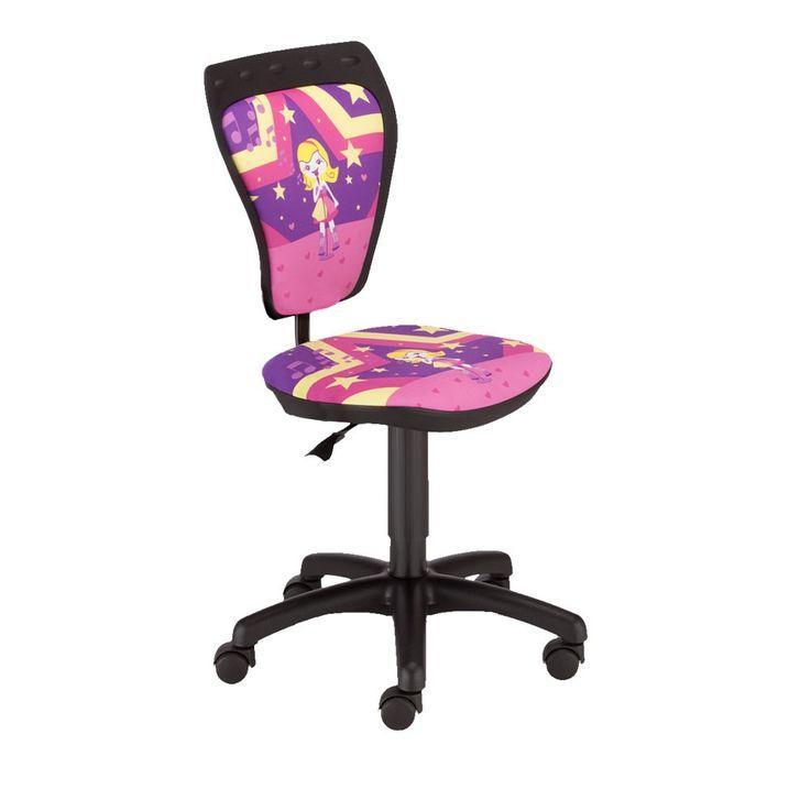 Schreibtischstuhl Kinder Zimmer Mädchen Sängerin Drehstuhl Ministyle TS22 RTS SUPERSTAR – Bild 1