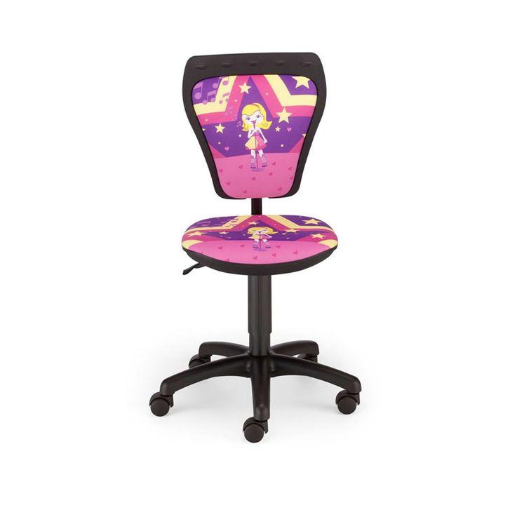 Schreibtischstuhl Kinder Zimmer Mädchen Sängerin Drehstuhl Ministyle TS22 RTS SUPERSTAR – Bild 2