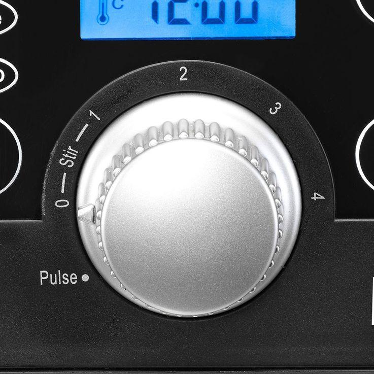 1250 Watt Küchenmaschine Zerkleinerer Mixer Edelstahl Messer Messbecher Beem Gigatherm Mix & Cook D2000765 – Bild 6