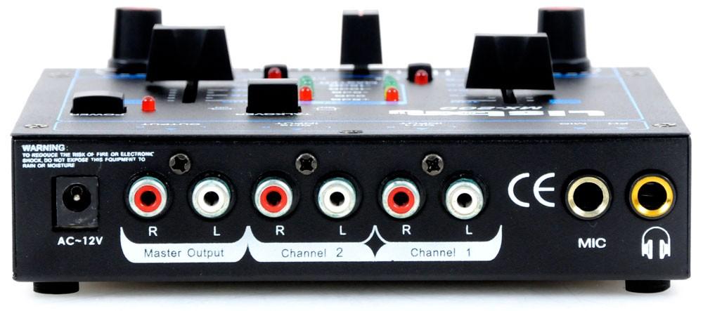 Modernes MX-200 Mischpult mit vielen Anschlüssen Liston MX-200 – Bild 3