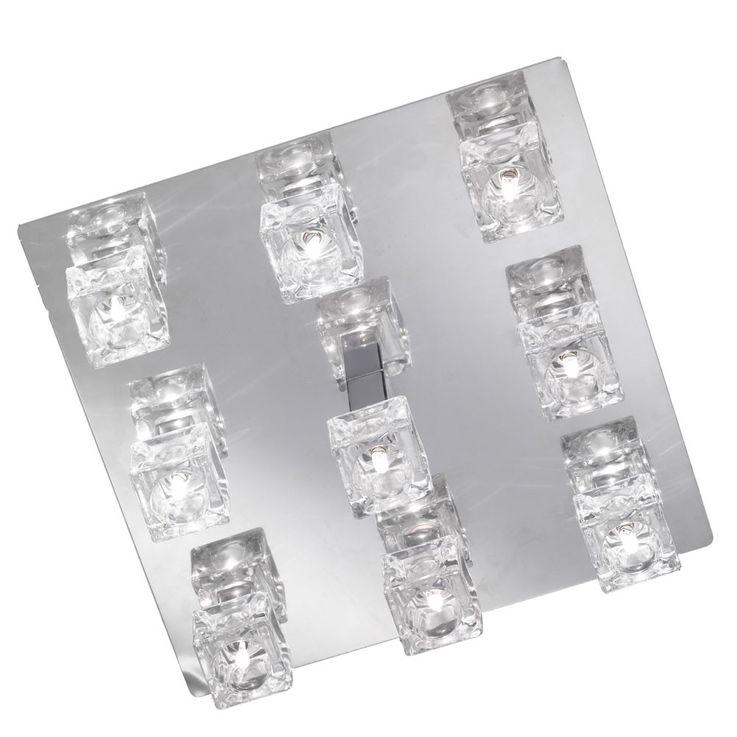 9-flammige Deckenleuchte DAPHNE mit 9x 20W Osram Leuchtmittel – Bild 10