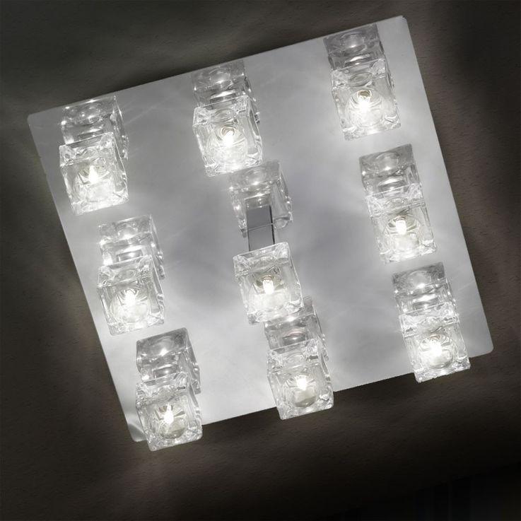 9-flammige Deckenleuchte DAPHNE mit 9x 20W Osram Leuchtmittel – Bild 11