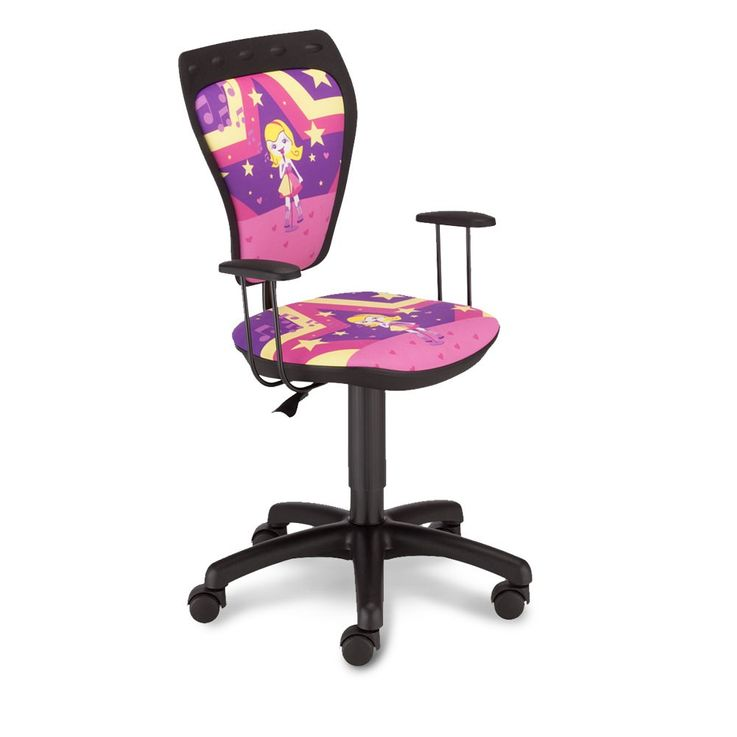 Desk chair maid singer swivel chair Mini Style TS22 RTS SUPERSTAR with armrests – Bild 1