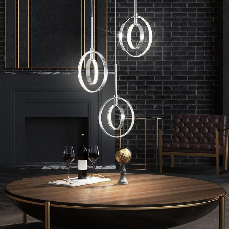 12 Watt LED pendant light hanging lamp lighting lamp light rings Reality lights R32703906 – Bild 2