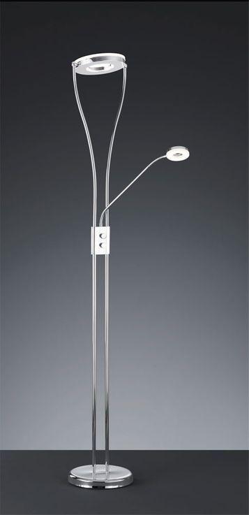 22 Watt LED floor lamp lighting torchiere lamp reading lights Reality RENNES R42412106 – Bild 3