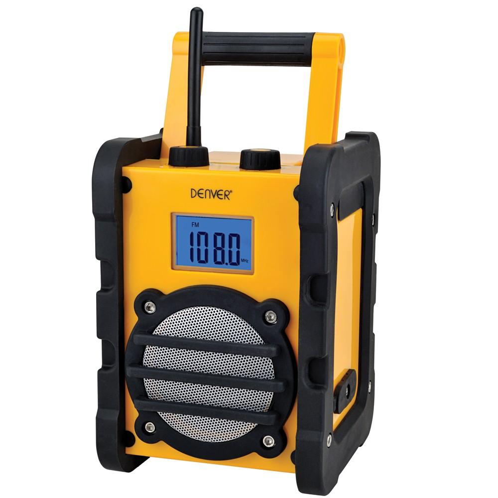 Robustes Baustellen Radio mit AUX-IN
