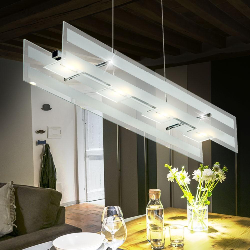 Verchromte 20W LED Pendelleuchte CORA Mit 1400 Lumen U2013 Bild 2