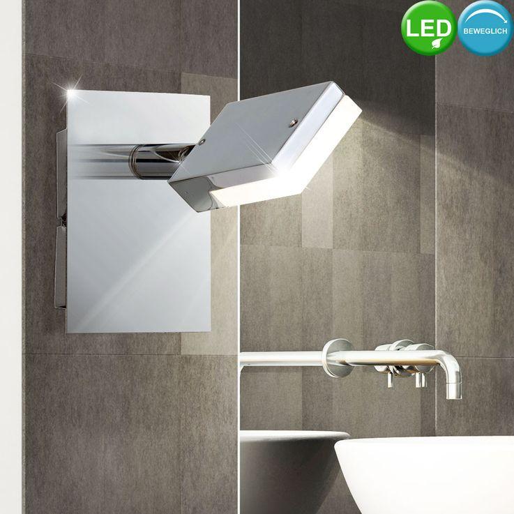Applique murale à LED pour salle de bains, éclairage de projecteur de projecteur spot de projecteur mobile  Esto 760010-1 – Bild 2