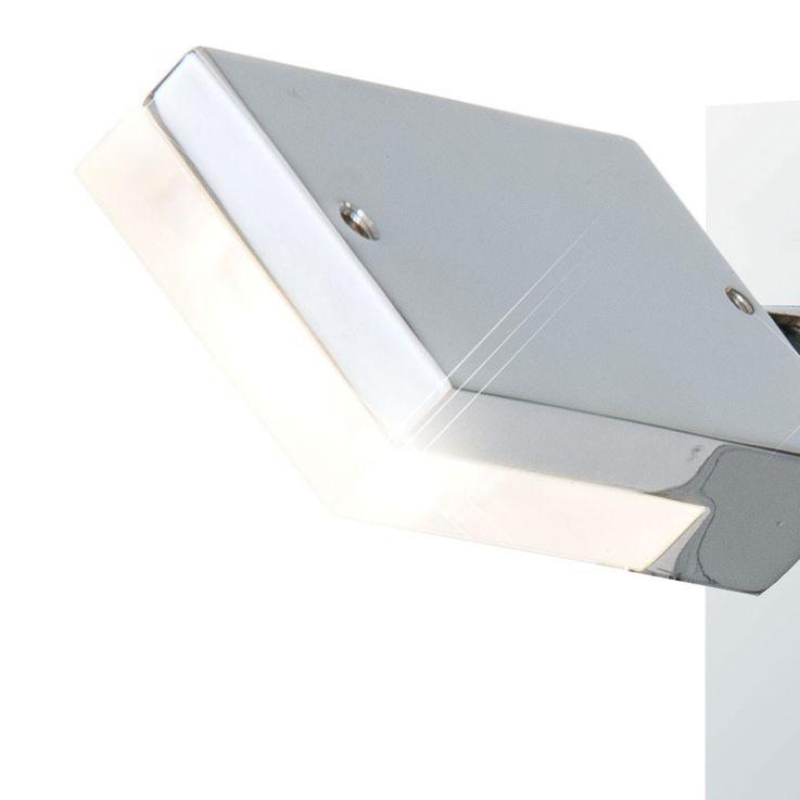 LED Wand Lampe Bade Zimmer Beleuchtung Spiegel Strahler Lampe Spot beweglich Esto 760010-1 – Bild 5