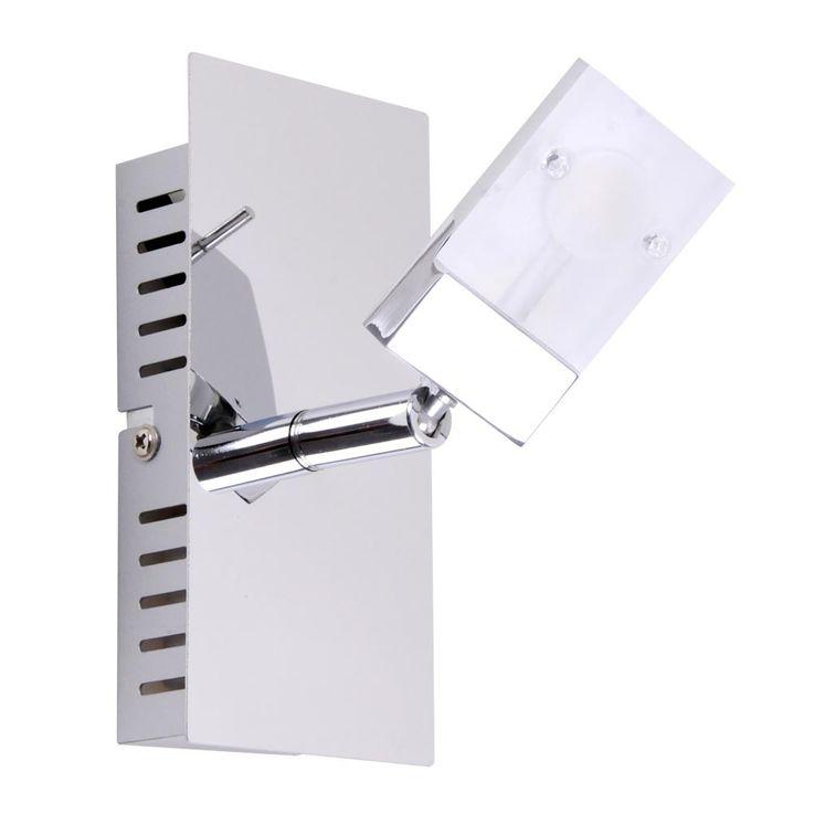 Applique murale à LED pour salle de bains, éclairage de projecteur de projecteur spot de projecteur mobile  Esto 760010-1 – Bild 1