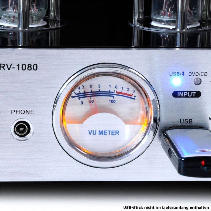 Tube amp sound amp Hi-Fi music system home theater Bluetooth MP3 AUX 50 watt RV-1080 – Bild 5