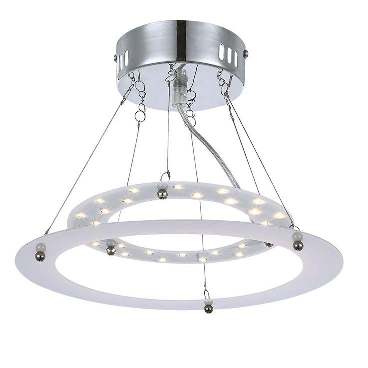 Suspension plafonnier 15W LED plafond lampe lumière luminaire éclairage Globo 17100 – Bild 2