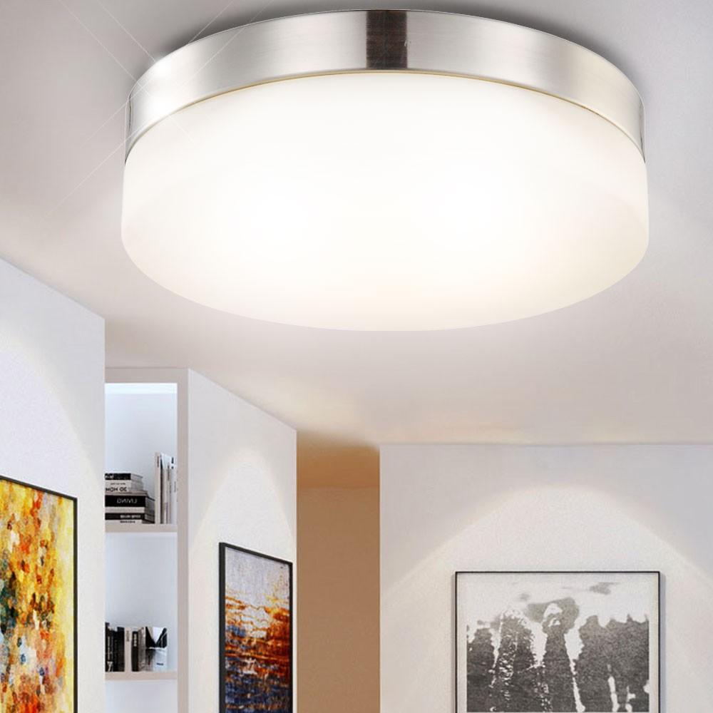 deckenleuchte mit 18 watt led leuchtmittel lampen m bel innenleuchten deckenbeleuchtung. Black Bedroom Furniture Sets. Home Design Ideas